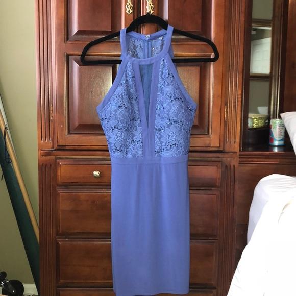 Night Way Collections Dresses & Skirts - Purple Halter Top Dress